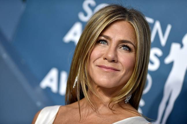 This one is the real Jennifer Aniston, in case you couldn't tell. Credit: PA