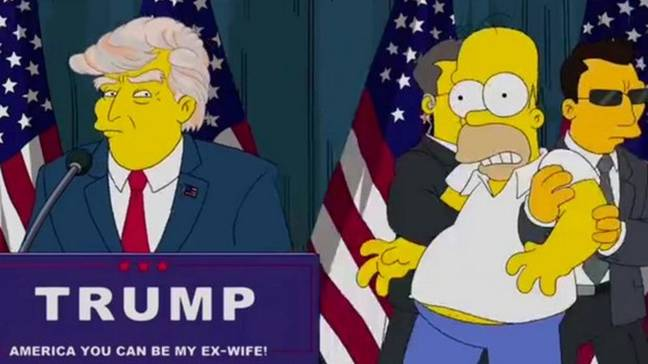Credit: 20th Century Fox. 'The Simpsons' Predicted Donald Trump's Shock Election 17 Years Ago