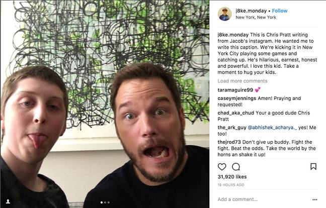 Credit: Jacob Monday/Instagram