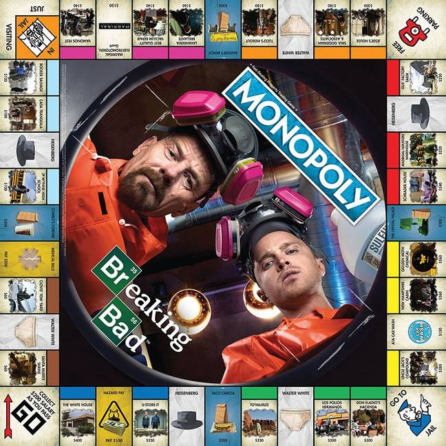 Breaking Bad Monopoly now exists. Credit: USAopoly