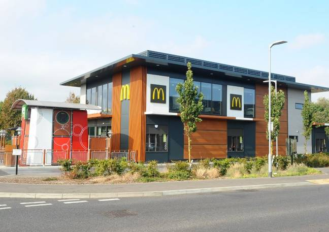 McDonald's has apologised to the 50-year-old for the debacle. Credit: Solent News