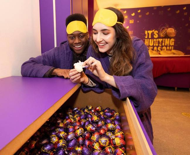 The Creme Egg hotel. Credit: Booking.com/Creme Egg
