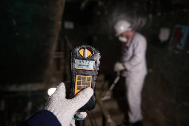 Radiation levels being recorded