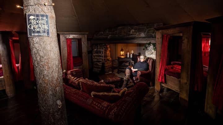 The cosy common room