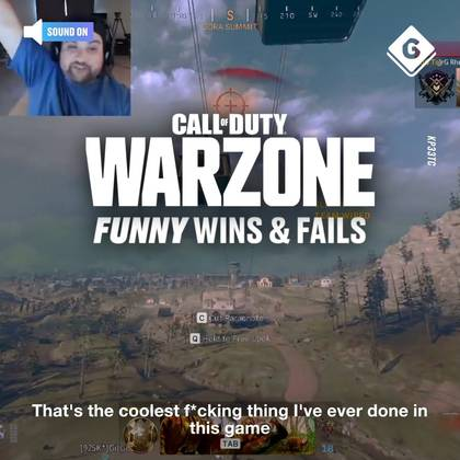Call of Duty Warzone Wins & Fails