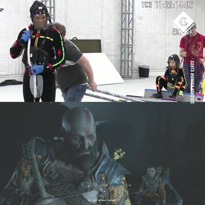 God of War Motion Capture Behind The Scenes