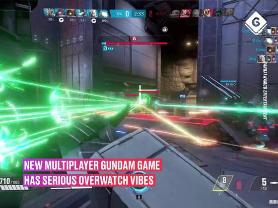 This New Multiplayer Gundam Game Has Serious Overwatch Vibes
