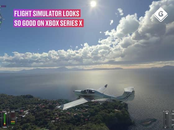 Flight Simulator Looks Amazing On Xbox Series X