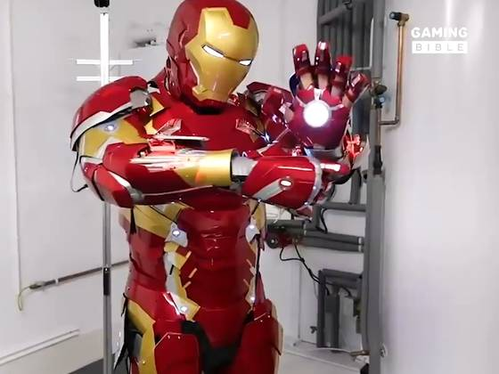 Transforming A Garage Into Tony Stark's Headquarters