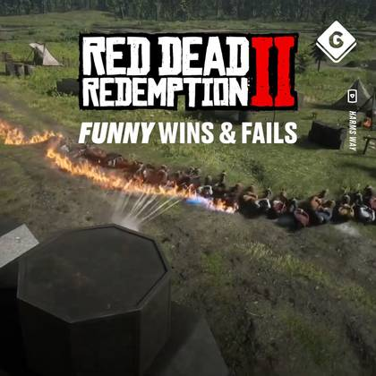 Red Dead Redemption 2 Funny Wins & Fails  3