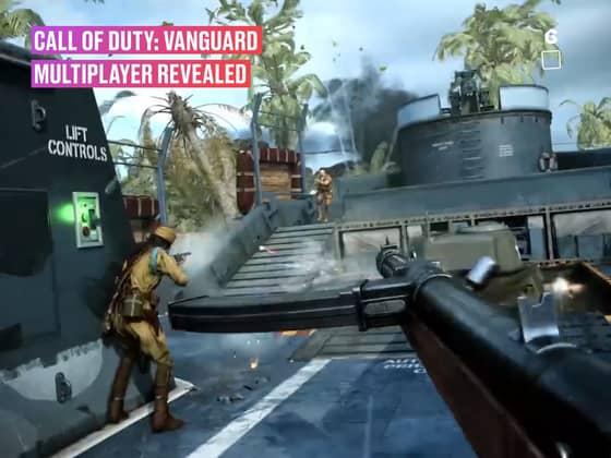 Call of Duty: Vanguard Multiplayer Gameplay Trailer