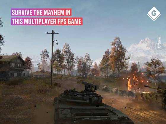 Survive The Mayhem In This Upcoming Multiplayer FPS Game