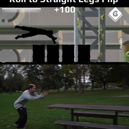 Recreating Gaming Parkour In Real Life