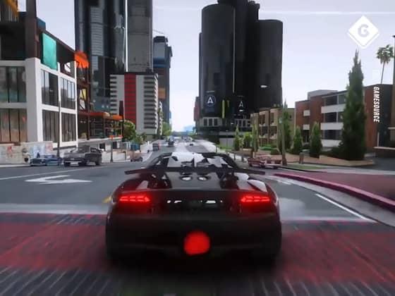 Unreal GTA V Graphics Mod