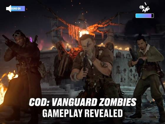 Call of Duty: Vanguard Zombies Gameplay Revealed