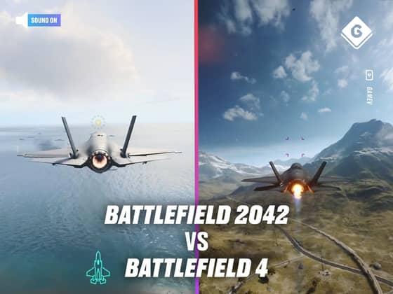 Battlefield 2042 vs Battlefield 4 Side-By-Side Comparison