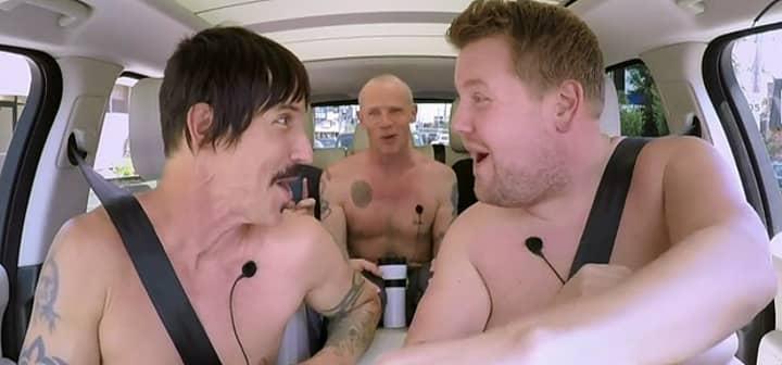 Red Hot Chili Peppers Frontman Anthony Kiedis Praises James Corden