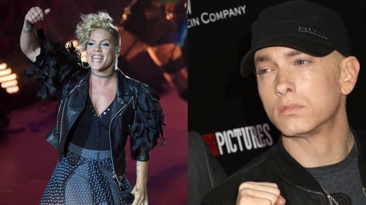 Pink Drunk Emailed Eminem A Huge 'Love Letter'