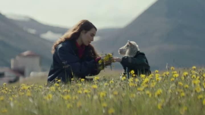 Lamb Trailer Reveals Creepy Half-Lamb Half-Baby Character