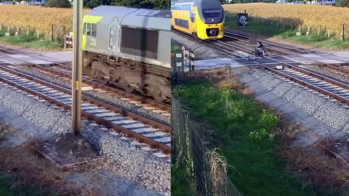 Dutch Train Company Releases Shocking Video To Show Dangers Of Level Crossings