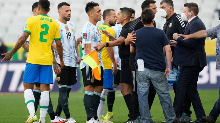 World Cup Qualifier Stopped As Police Invade Pitch Over Alleged Quarantine Breach