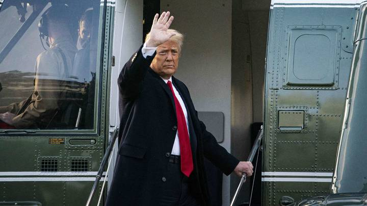 Donald Trump Has Left The White House Ahead Of Joe Biden Inauguration