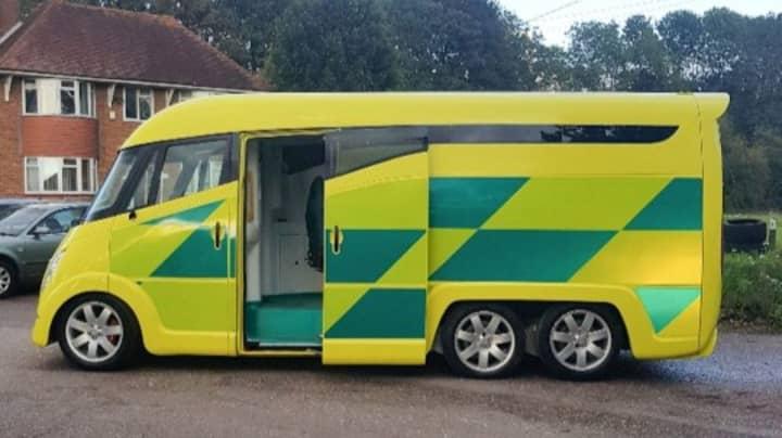 Futuristic £250k Ambulances That Can Reach 99mph Seen On UK Streets