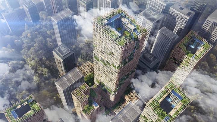 Japan Set To Build World's Tallest Wooden Skyscraper