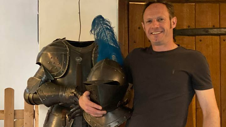 Wife Horrified After Husband Buys Four Stone Suit Of Armour On eBay
