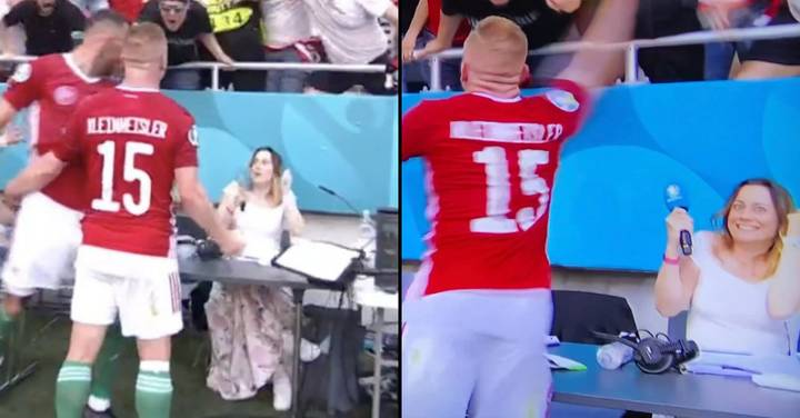 Woman Goes Viral For Reaction To Hungary's Goal Celebration Against France