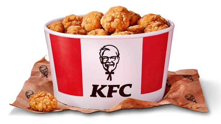 KFC Is Bringing Back Its 80 Piece Popcorn Chicken Bucket Next Week