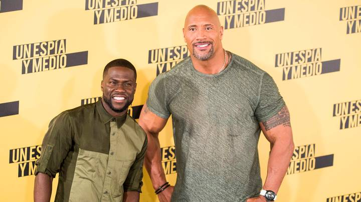 Dwayne 'The Rock' Johnson And Kevin Hart Troll Each Other Over Dodgy Dolls
