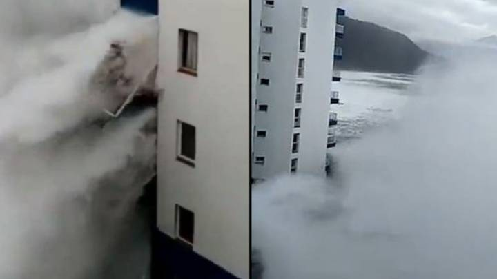 Holidaymakers Evacuated Following Huge Storms In Tenerife