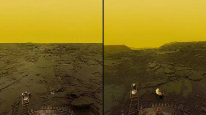 Russians Captured Incredible Photos From The Surface Of Venus Before Lander Melted