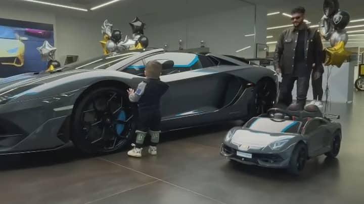 Rapper Gifts Two-Year-Old Son £100k Lamborghini