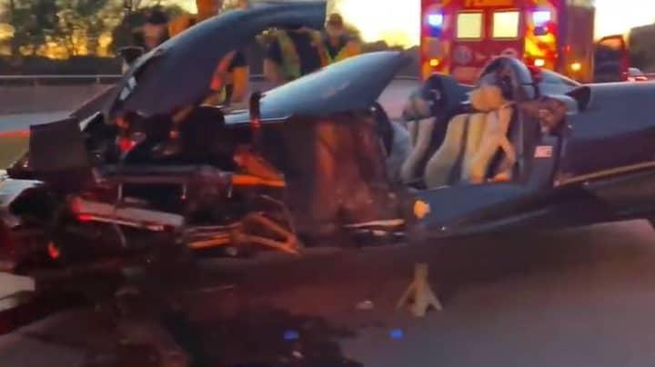 Teen YouTuber Says 'S*** Happens' After Crashing $3.4 Million Sportscar