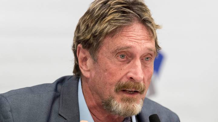 John McAfee's Instagram Bizarrely Posts The Letter Q After His Death