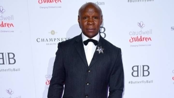 A Petition Has Been Launched To Make Chris Eubank The Next James Bond