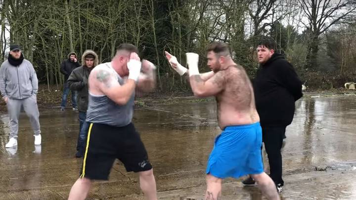 Car Park Brawl Between Hulk And Bigfoot Ends In A Bloody Mess