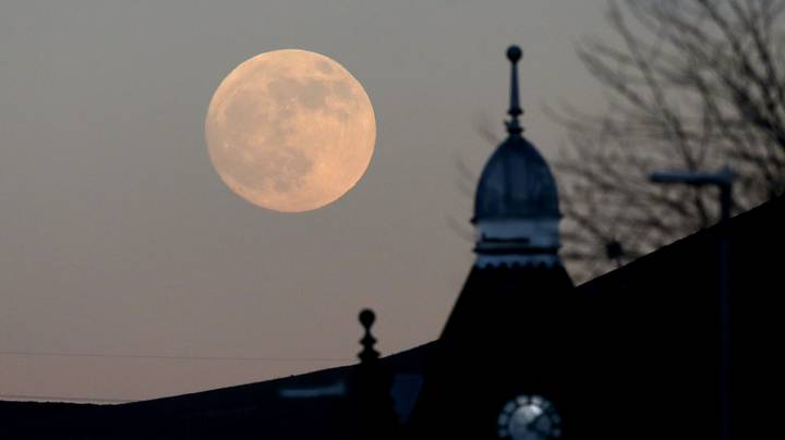 Pink Supermoon Visible In UK Tonight