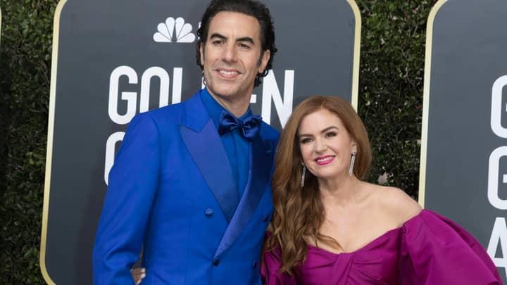 Isla Fisher Threatened To 'Never Talk To Sacha Baron Cohen Again' Over Borat Joke