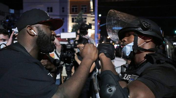 Violent Protests Continue To Erupt In Minneapolis After George Floyd Was Killed