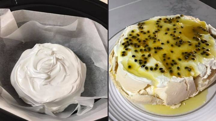 Aussies Have Discovered You Can Make A Pavlova In A Slow Cooker