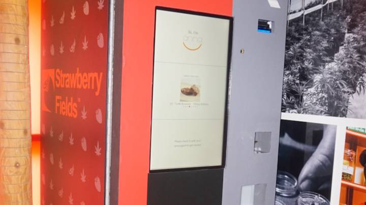 Weed Vending Machines Are Being Rolled Out In America