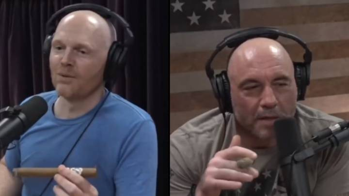Bill Burr Rips Joe Rogan For Saying Wearing A Face Mask Is 'For B****es'