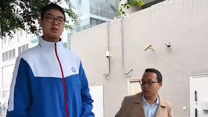 14-Year-Old Set To Become Tallest Male Teenager In The World