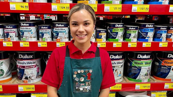 Young Aussie Quits University Degree After Scoring 'Dream' Job To Work At Bunnings