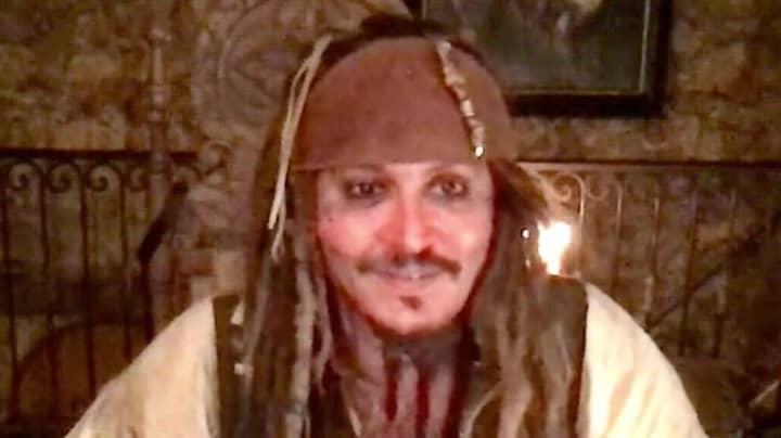Johnny Depp Pays Virtual Visit To Children's Hospital As Captain Jack Sparrow