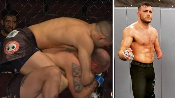 MMA Fighter Praised After Beating Opponent In First Round With Only One Arm