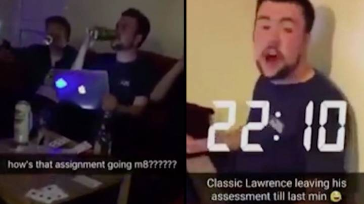 LAD Who Finished Uni Assignment While On A Night Out Has Got His Mark Back